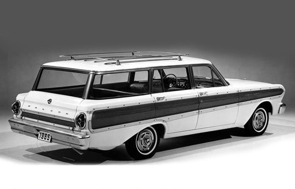 FORD Falcon Wagon -65, This is what the car is supposed to look like when it's finished